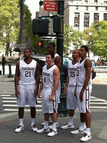 A look into Fordham Basketball's 2011-2012 jersey