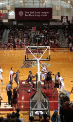Fordham basketball starting to win and starting to advertise (4/4)