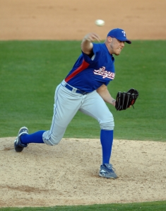 MLB: FEB 28 Spring Training - Rangers v Angels